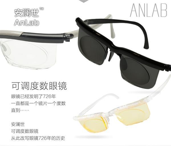 129元!可調度數眼鏡:近視600° - 每日頭條