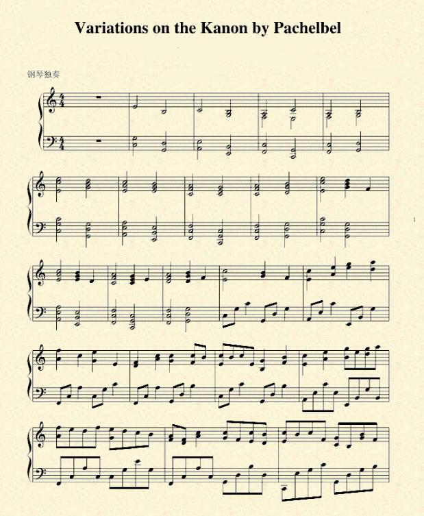推薦1首流行音樂的鋼琴五線譜。希望對感興趣的朋友帶來幫助 - 每日頭條