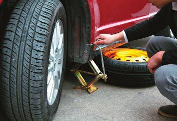 換輪胎 你會正確使用千斤頂嗎? - 每日頭條