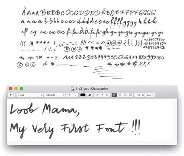 讓你的手寫字瞬間變為PS\\Illustrator字體 - 每日頭條