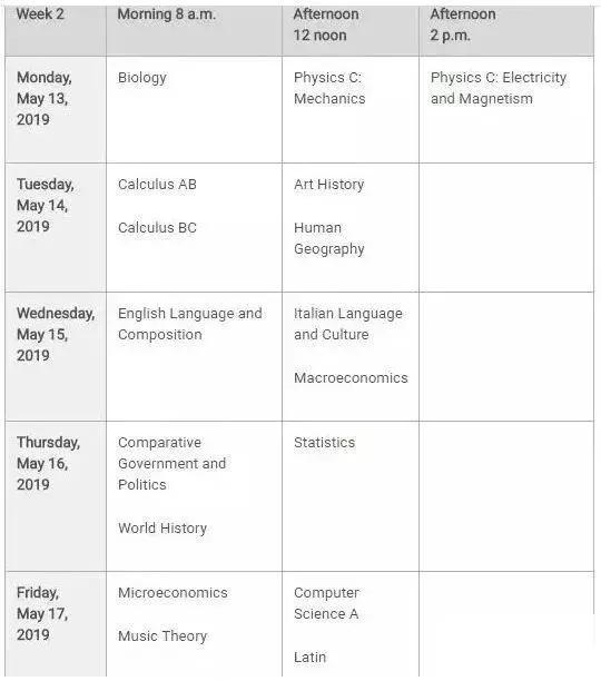 收藏! 2019年各留學考試時間匯總。雅思、托福、SAT、GRE…… - 每日頭條