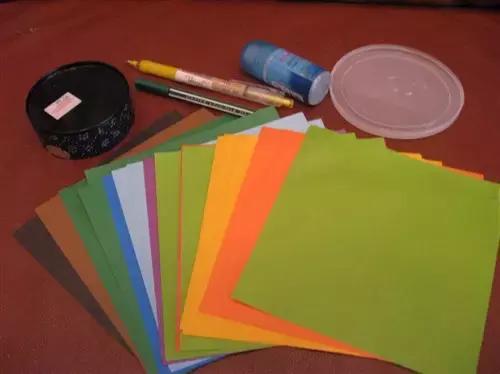 摺紙:幼兒手工花蝴蝶。美美的 - 每日頭條