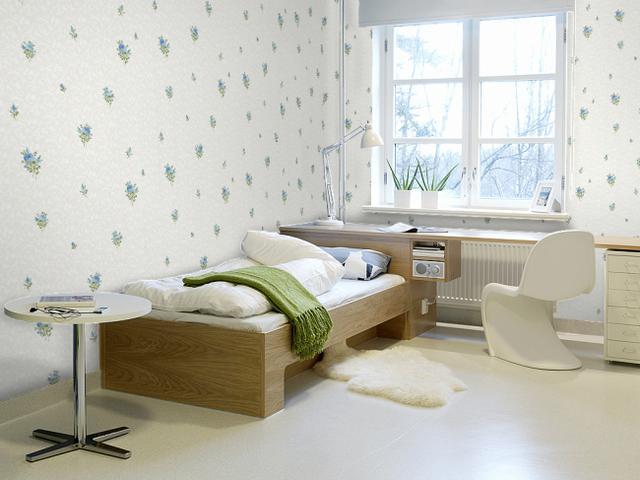 家庭裝修壁紙優缺點和壁紙粘貼技巧 - 每日頭條