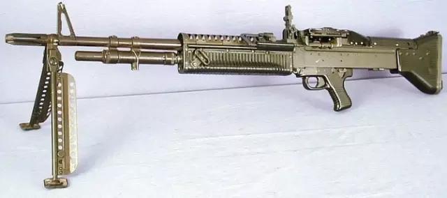 生產了25萬挺,裝備30多個國家軍隊,世界上最著名的機槍之一 - 每日頭條