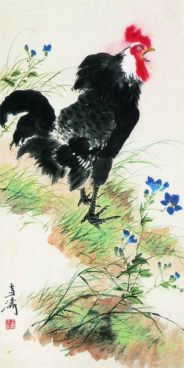 名家畫雞,大吉大利! - 每日頭條