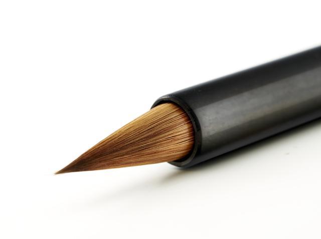 這種毛筆書寫流暢 水枯而墨不竭 連續書寫調轉隨心 久用不乏! - 每日頭條