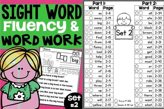 沒有特意買書。帶孩子學Sight Words. 用這些資源也挺有效! - 每日頭條