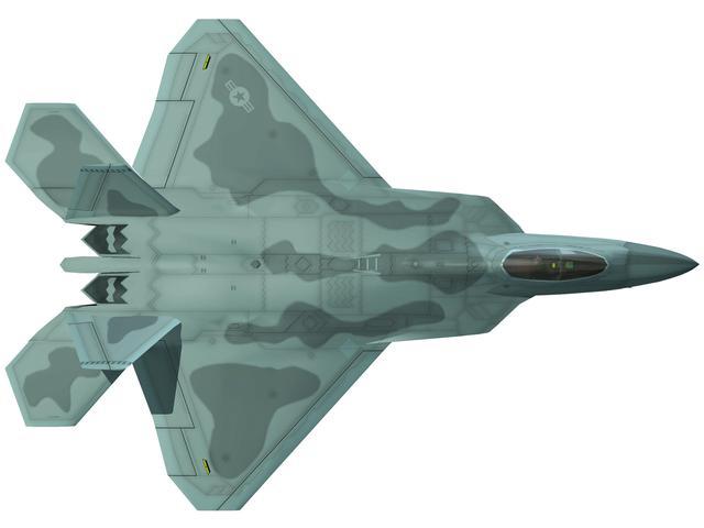 六大超級戰機之F-22「猛禽」篇:首飛已過20年。王者依舊孤獨 - 每日頭條