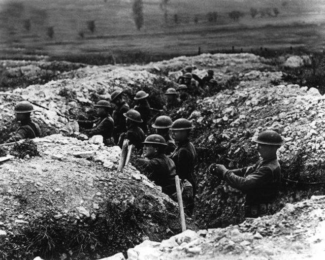 殘酷戰壕戰催生德軍製造秘密武器:戰壕挖掘機 - 每日頭條