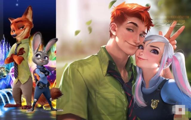 當迪士尼動畫中的動物和機器人變成真人,米老鼠這對超級有愛! - 每日頭條