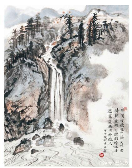 山水畫中水的3種畫法。你會幾種? - 每日頭條