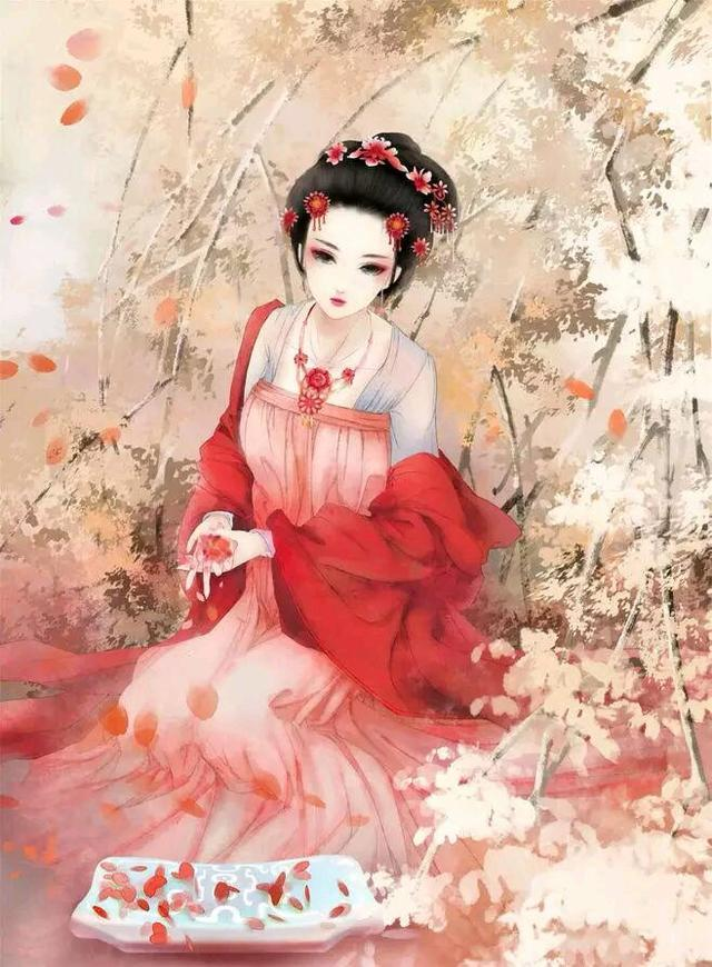 古風女頭。最是中國紅最惹人愛 - 每日頭條