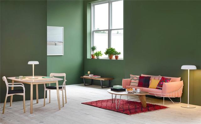 「室內設計」30個與綠色主題相關的客廳設計方案 - 每日頭條