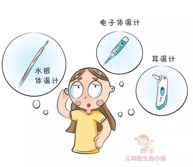 寶寶發燒。到底哪種體溫計最適合?這4種體溫計的差別要先了解下 - 每日頭條