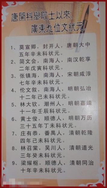 廣東最厲害的狀元 一首詩氣死妓女 - 每日頭條