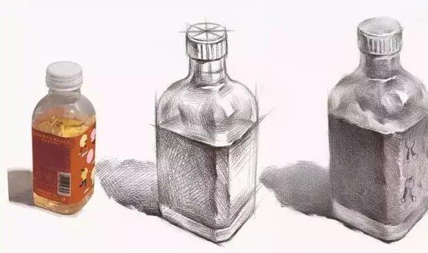 「素描靜物」畫塑料的質感與玻璃有什麼不同? - 每日頭條