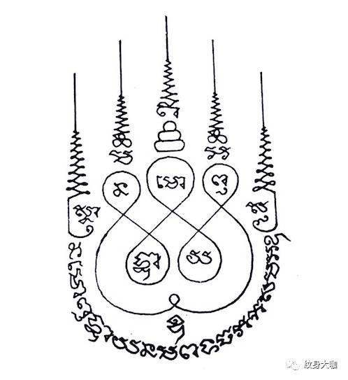 泰國「法力紋身」?那些你不了解的泰國刺符…… - 每日頭條