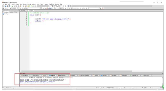 CodeBlocks的入門使用教程 - 每日頭條