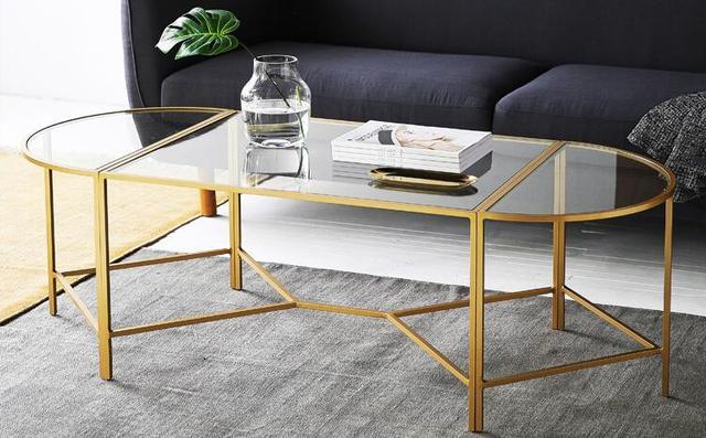 現代家居時尚客廳茶幾。設計新穎時尚大氣。一起來欣賞幾款茶幾 - 每日頭條
