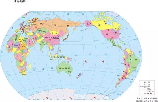 世界地圖,我竟然被你騙了這麼多年! - 每日頭條