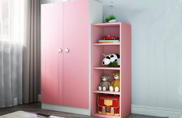 時尚家居兒童專用衣櫃。設計樣式可愛時尚。兒童房必備家具之一 - 每日頭條