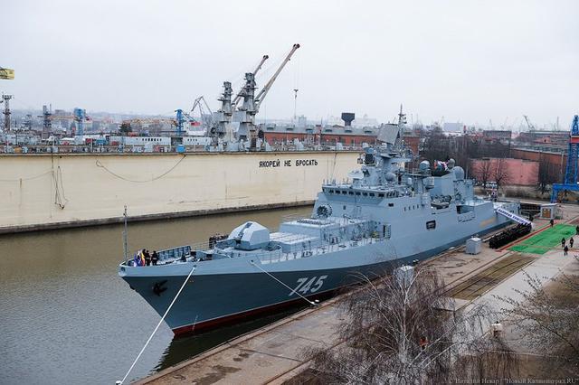 四千噸的復興:俄羅斯最新護衛艦全視角 - 每日頭條