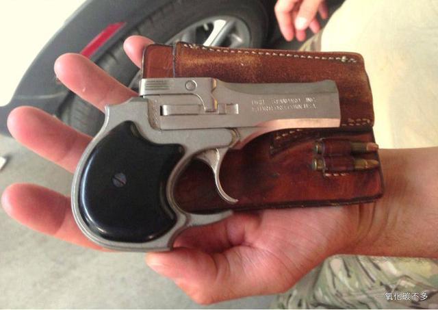 這隻看起來不起眼小手槍,當年竟在美國引起轟動! - 每日頭條