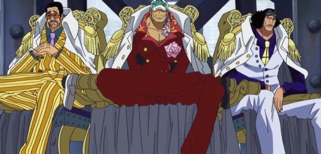 《海賊王》四皇和海軍三大將哪邊更強?赤犬差點被白鬍子殺死 - 每日頭條