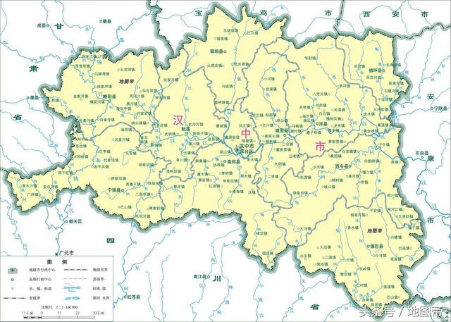 漢中在秦嶺以南。為何被劃入陝西而不是四川? - 每日頭條