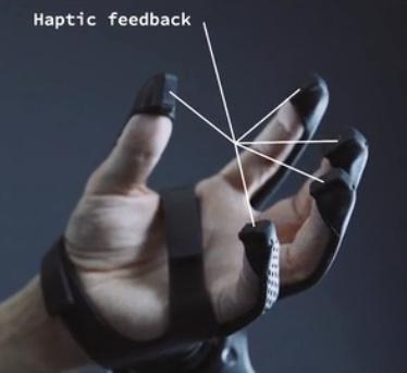 用「VR/AR手套」代替手柄,「Plexus」想讓你在虛擬世界擁有靈活雙手 - 每日頭條