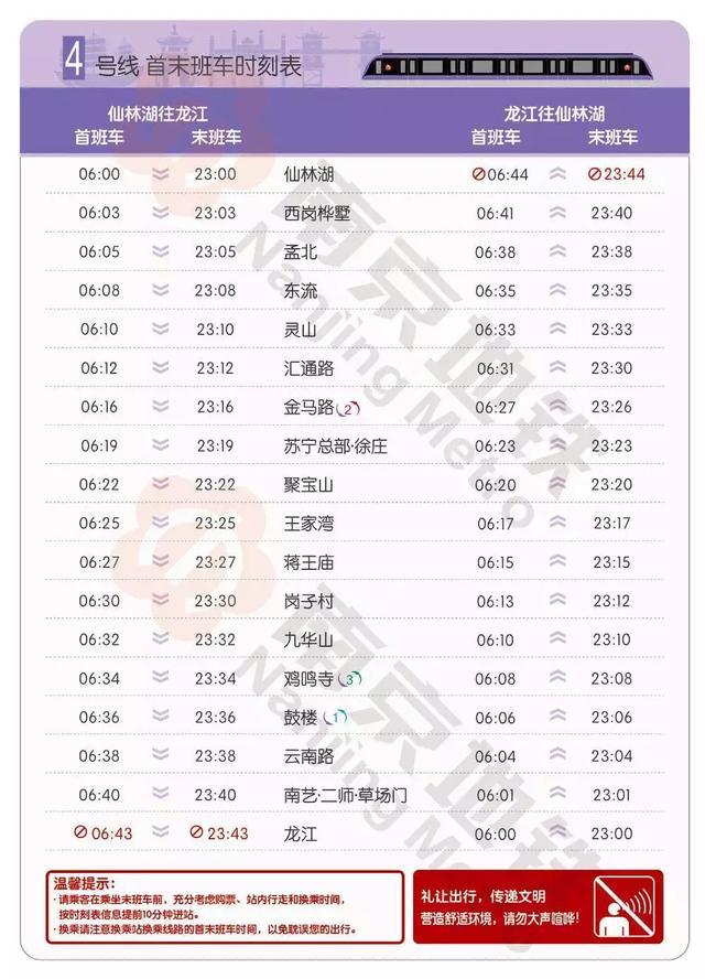 趕緊收藏!2019南京地鐵最新運營表,超全如廁指南出爐!超實用! - 每日頭條