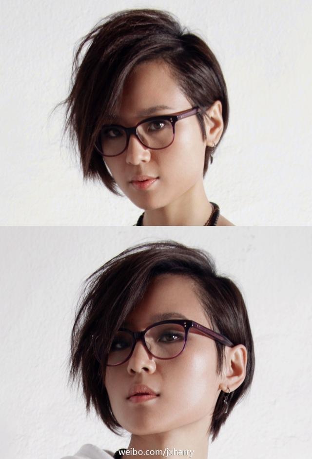 周筆暢換了N個眼鏡卻改不了臉短的事實!我來教你臉短如何選眼鏡 - 每日頭條