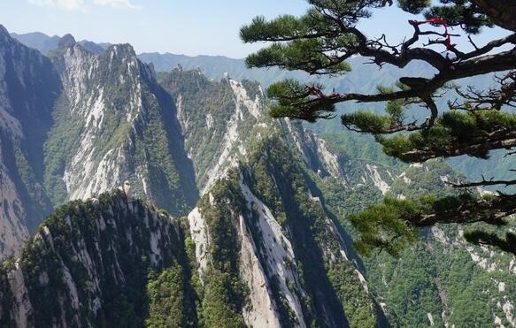 風景圖集:西安華山 - 每日頭條