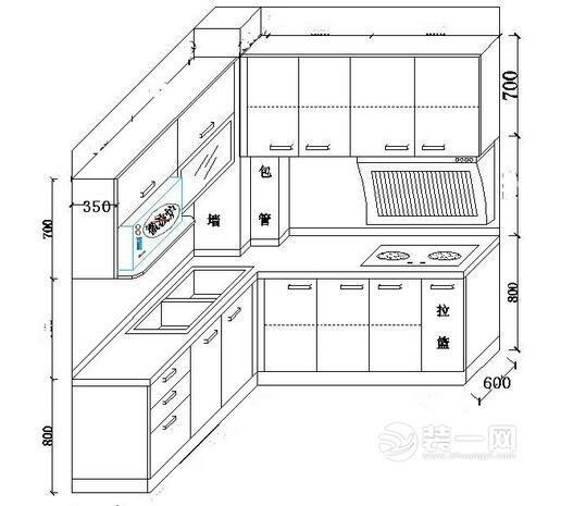 櫥櫃尺寸標準一般是多少?尺寸怎麼算?如何設計? - 每日頭條