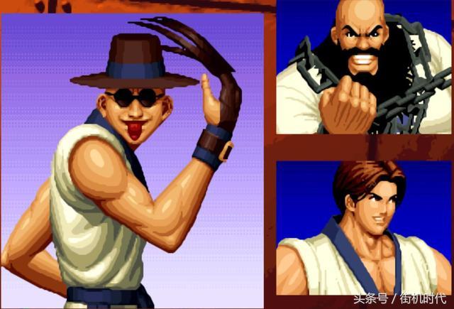 《拳皇》系列兩大精神支柱。陳國漢和蔡寶健 - 每日頭條