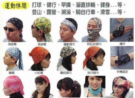 魔術頭巾為什麼無縫?憑什麼BUFF魔術頭巾敢賣幾百塊? - 每日頭條