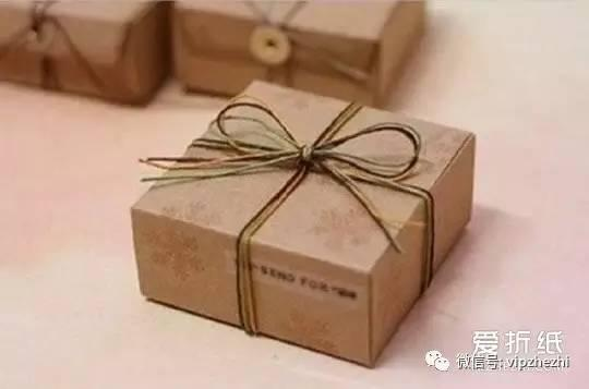 如何摺紙方形包裝盒 牛皮紙包裝盒的折法圖解 - 每日頭條
