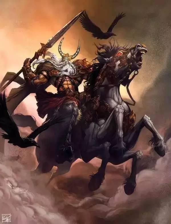 北歐神話—眾神之父奧丁,我才不是希臘神話里的那個老色鬼宙斯! - 每日頭條