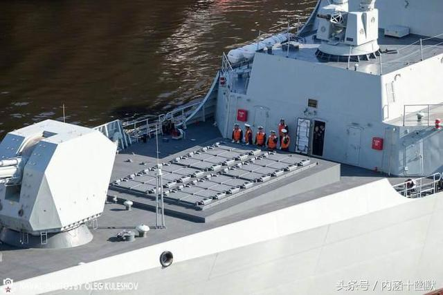 國產052D和055驅逐艦的「戰鬥力之源」——通用飛彈垂直發射裝置 - 每日頭條