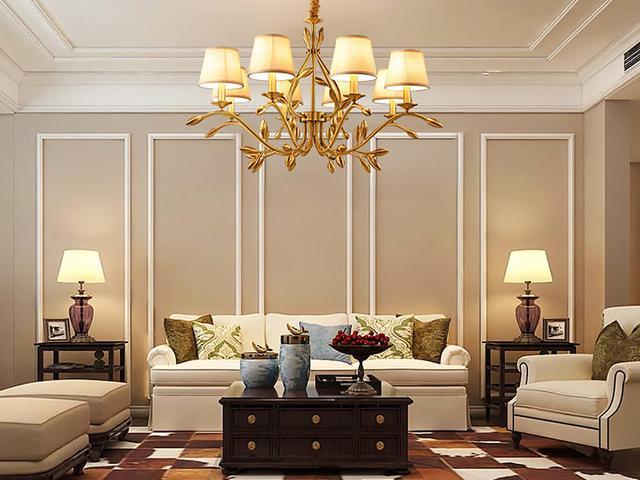美式鄉村客廳這樣軟裝。盡顯輕奢風格調 - 每日頭條