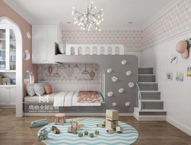 家有兩小寶。兒童房該如何設計?二胎房的幾種設計方案 - 每日頭條
