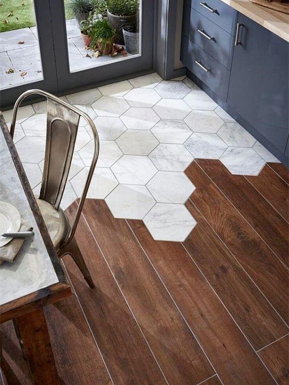 木地板和地磚之間如何銜接? - 每日頭條