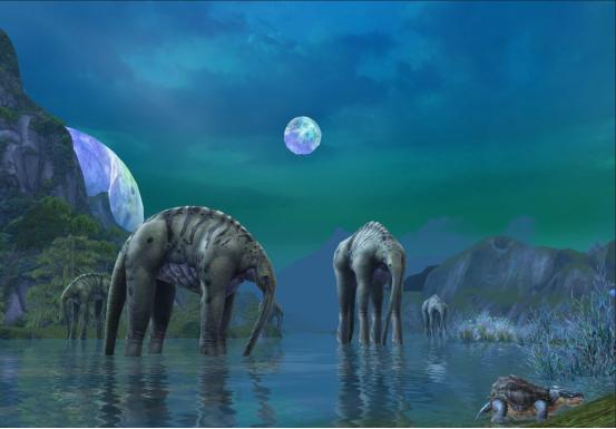 研究發現月球一直在遠離地球,你知道恐龍時代的月亮有多大嗎? - 每日頭條