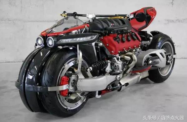 全球限量十臺:八缸V8引擎摩托車,看了想下手 - 每日頭條
