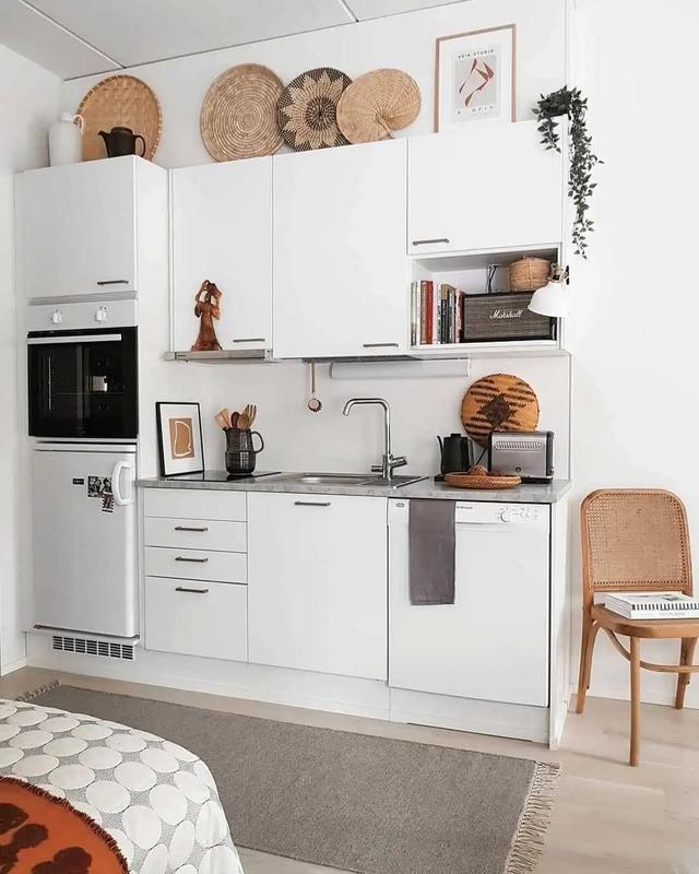 單身廚房4秘訣。多賺5㎡好收納。省空間還高顏值!平面圖都有了 - 每日頭條