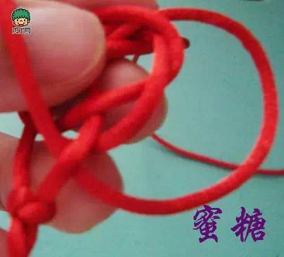 手工編織。紅繩手鍊 編法大全(圖解) - 每日頭條