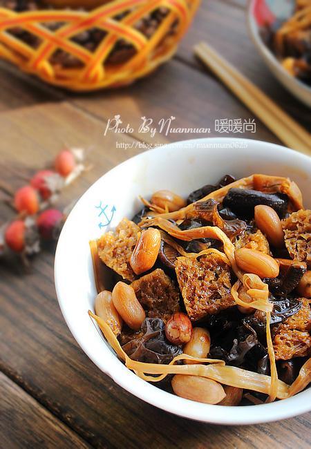 經典上海本幫菜四喜烤麩 附烤麩處理技巧 - 每日頭條