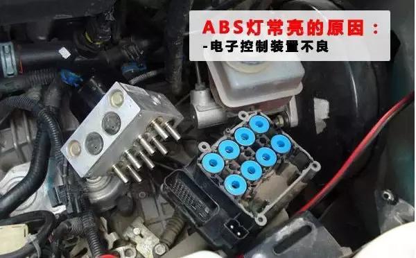 看圖修車 之 ABS警告燈點亮故障分類與排除 - 每日頭條