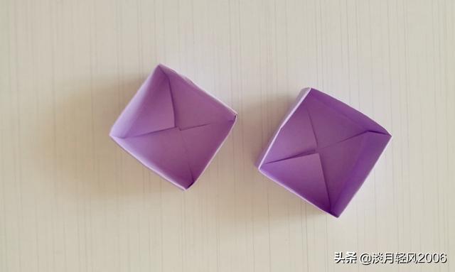 用一張紙折幾下兩分鐘做一個小盒子。很實用的小手工。有製作過程 - 每日頭條