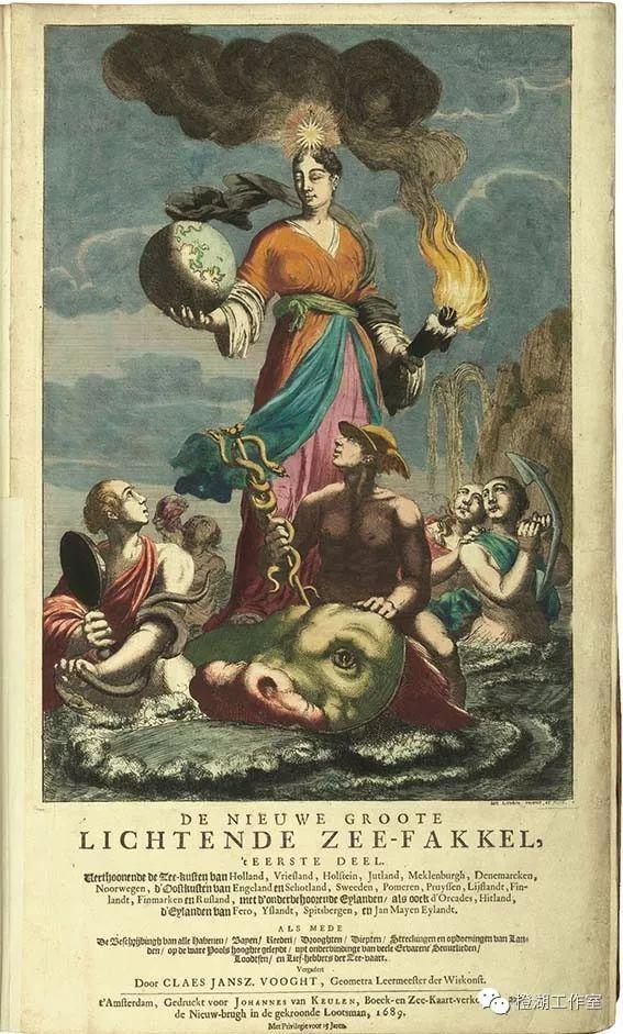 59期~照亮海洋的新火炬(上)荷蘭製圖師馮·庫倫家族及代表作品 - 每日頭條
